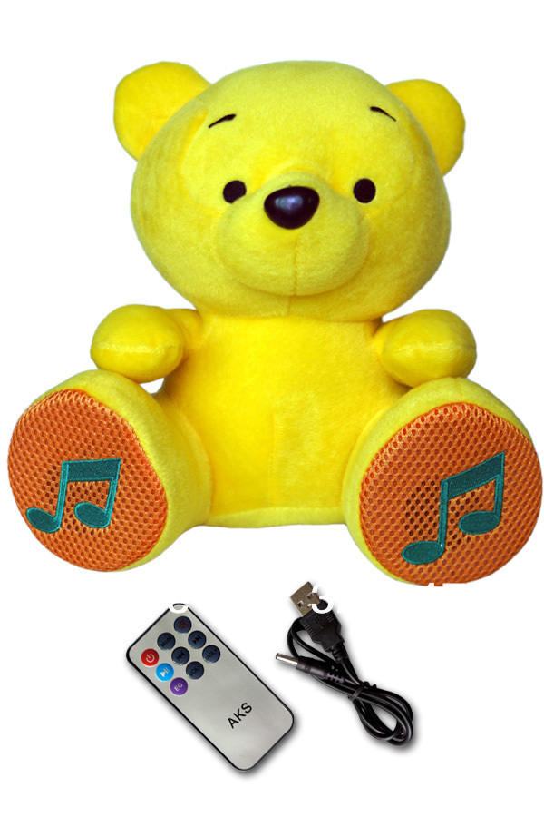 cuddly toy MP3 speakers bear/ Promotional product fully customized  to your requirement UK Supplier