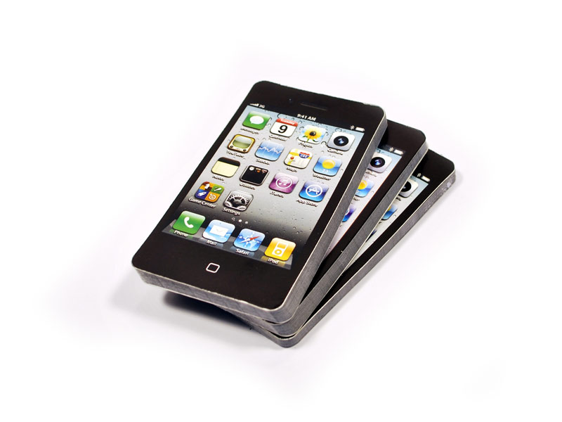 iPhone style notepad / Promotional product fully customized  to your requirement UK Supplier
