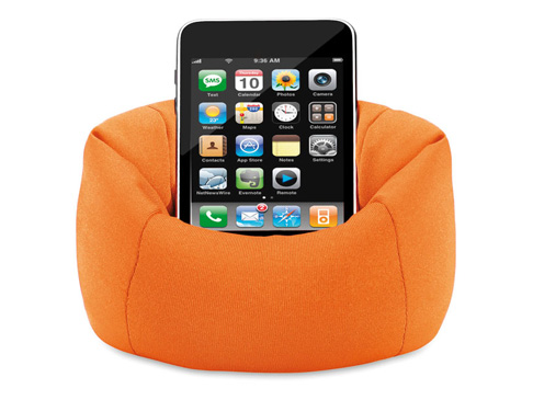Phone Holder mini beanbag/ Promotional product fully customized  to your requirement UK Supplier