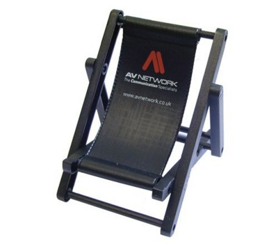 Phone Holder small deck chair/ Promotional product fully customized  to your requirement UK Supplier