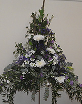 Pedestal church arrangement traditional
