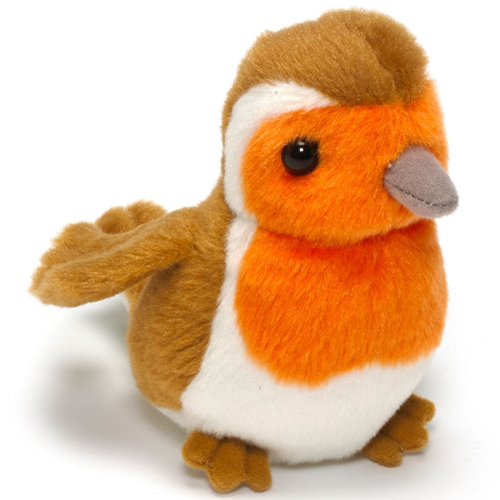 Cuddly Robin - Fully Customisable Plush