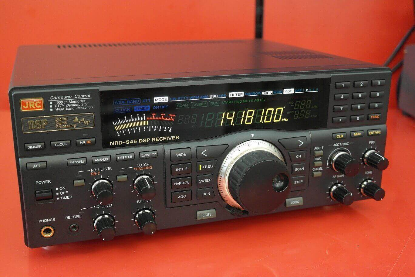 Second Hand JRC NRD545 DSP Communications Receiver 1