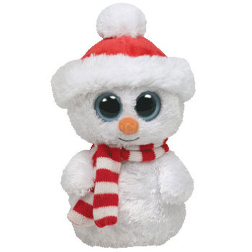 Cute Loving Eyes Snowman - Fully Customisable Plush