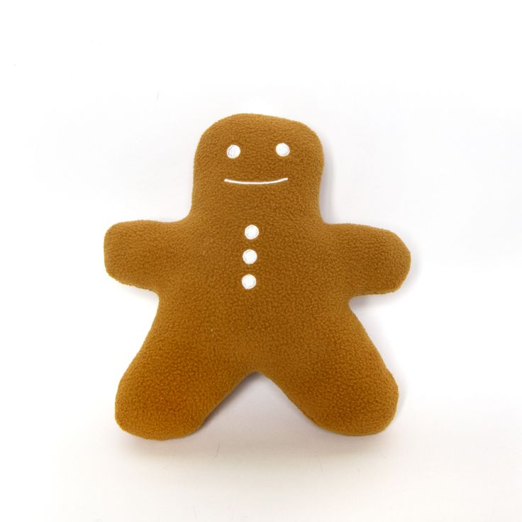 Cuddly Gingerbread Man - Fully Customisable Plush