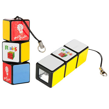 Rubik's LED Flashlight (Small) / Promotional product fully customized  to your requirement UK Supplier