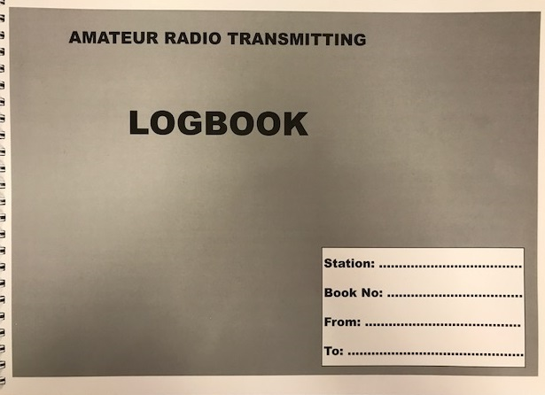 Logbook for Licensed Radio Amateurs