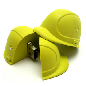 Construction hard hat customized USB flash drive / Promotional product fully customized  to your requirement UK Supplier