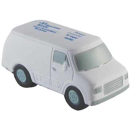 Stress Ball Transit Van / Promotional product fully customized  to your requirement UK Supplier