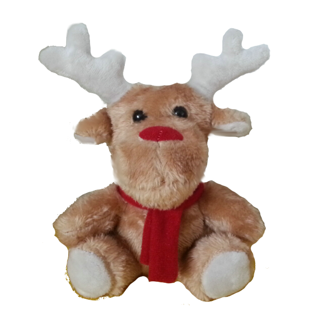 Cuddly Christmas Reindeer - Fully Customisable Plush
