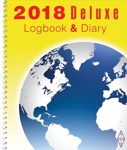 RSGB Deluxe Log Book & Diary 2018