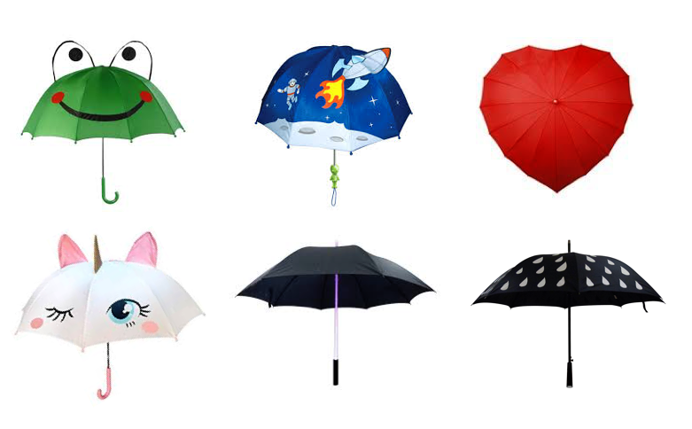 Kids Umbrella / Promotional Product Fully Customised To Your Requirement UK Supplier