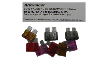 Fuse Assortment Low Value for RIGrunner