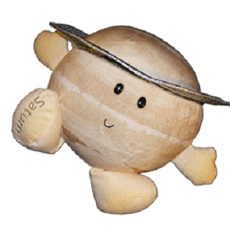Planet Saturn Soft Toy - ?Fully Customisable Plush