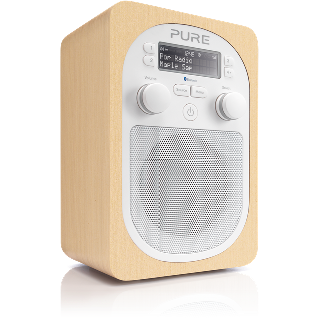Evoke D2 with Bluetooth Compact, portable DAB digital and FM radio with Bluetooth