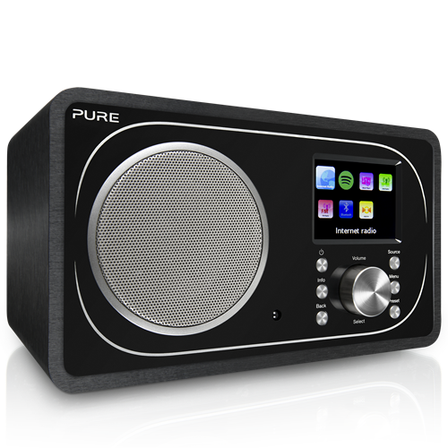 Evoke F3 with Bluetooth, Internet, DAB digital and FM radio with