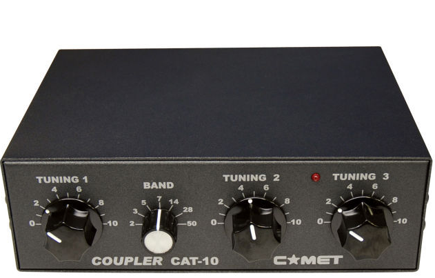 COMET CAT10 3.5MHz - 50 QRP 10 Watt Manual ATU