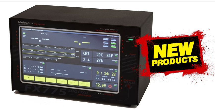METROPWR FX775 Ultimate Digital Power and SWR Meter 1