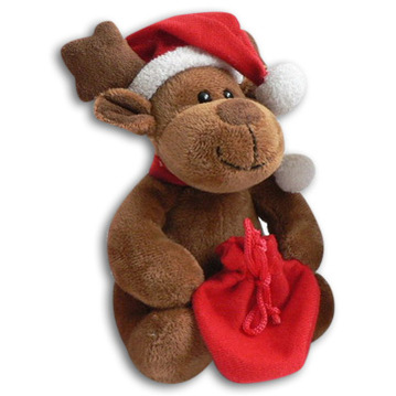 Cuddly Dasher the Reindeer- Fully Customisable Plush