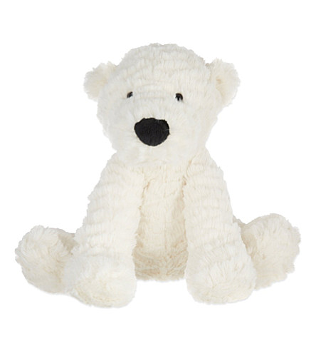 Cuddly Polar Bear - Fully Customisable Plush