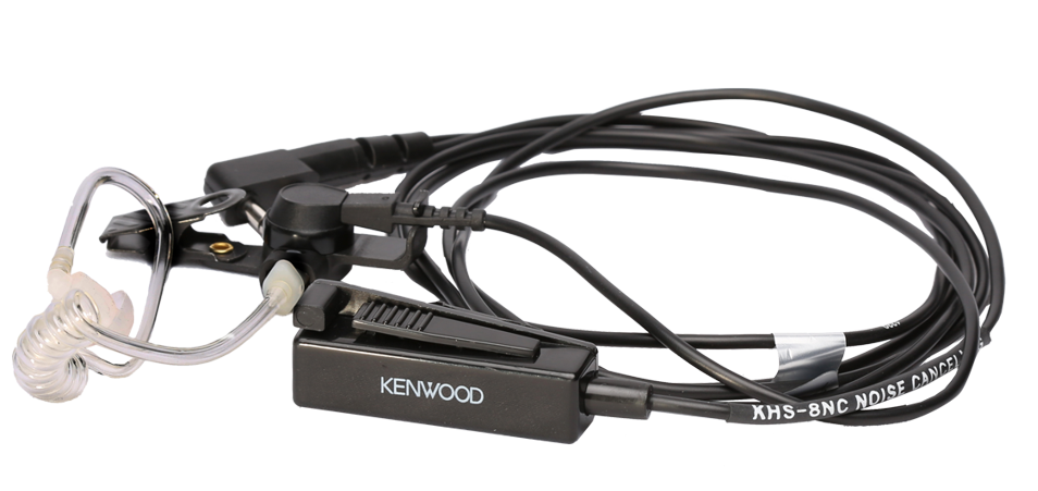 Kenwood KHS-8NC Two-wire Palm Microphone with Earpiece