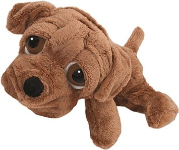 Cute Sharpei Pup - Fully Customisable Plush