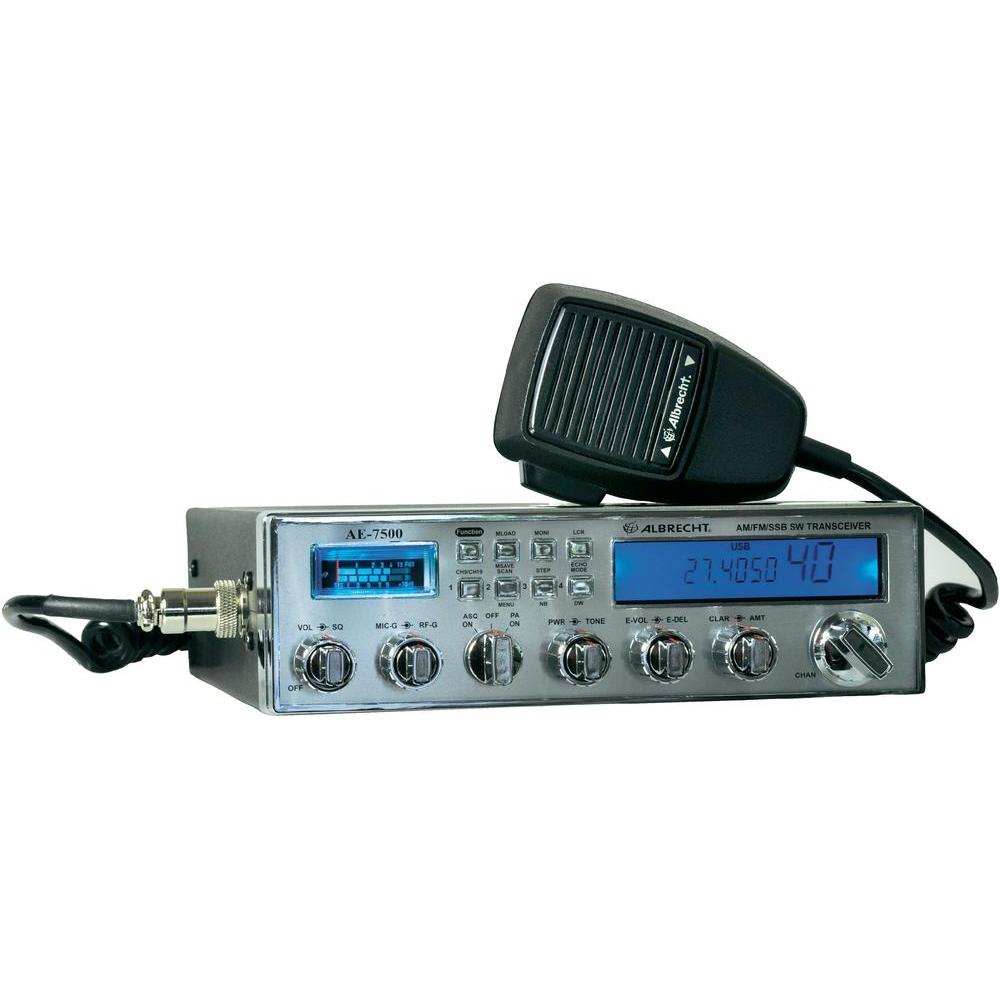 Albrecht AE7500 Multi Mode CB Transceivers