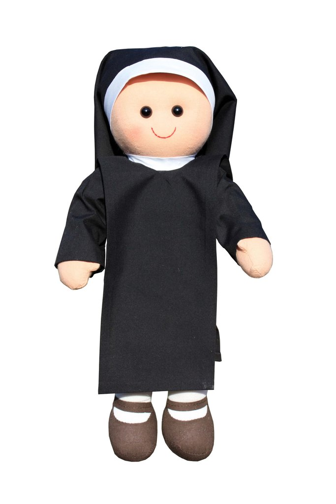Cuddly Nun Doll  - Fully Customisable Plush