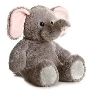 Cuddly Elephant - Fully Customisable Plush