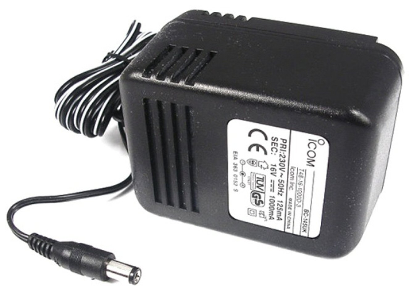 Icom BC-145 Mains Adapter for BC-119N, BC-144 and IC-M35
