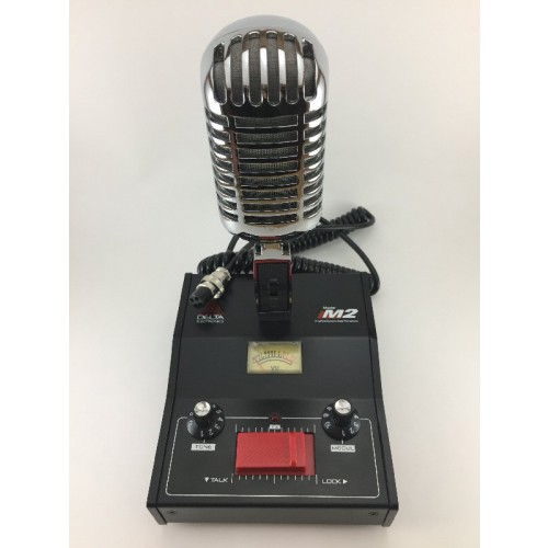 Delta M2-CHROME Amplified Dynamic Desk Microphone