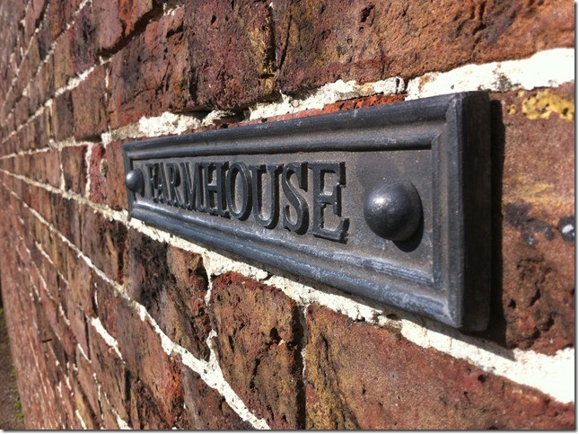 Lead House Sign 6 to 10cm High