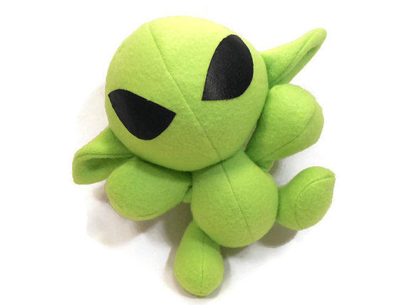 Cuddly Alien - Fully Customisable Plush