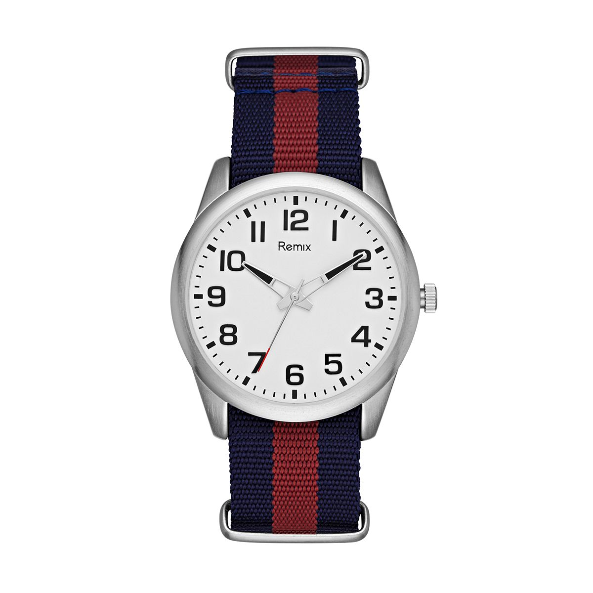 Navy & Red Nylon Strap  / Promotional product fully customized
