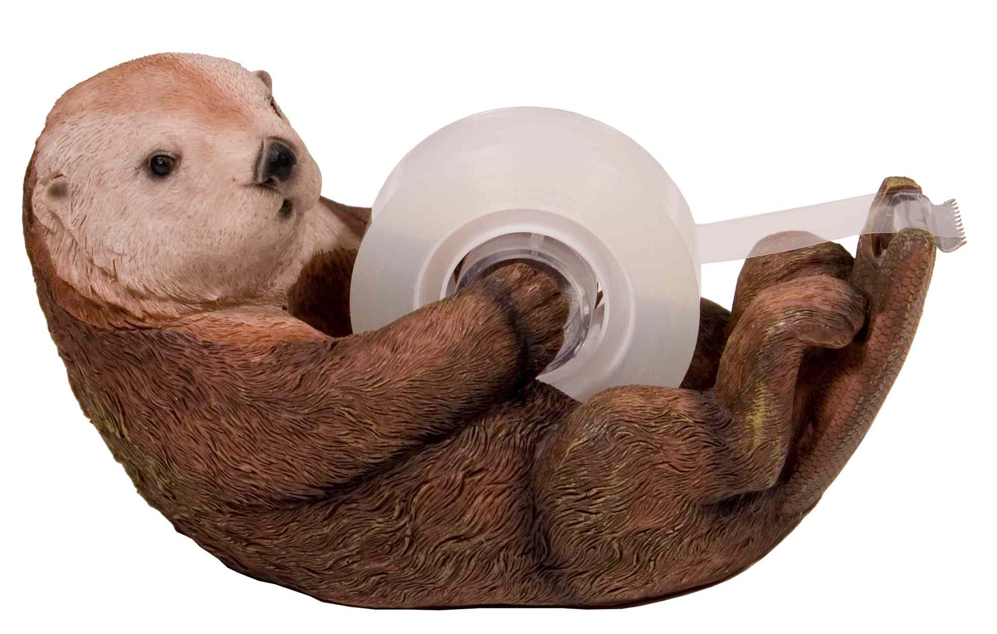 Otter shaped tape dispenser  / Promotional product fully customi