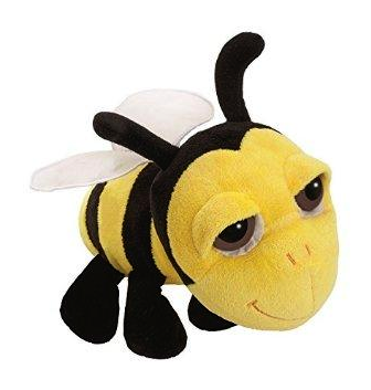 Soft Cuddly Toy Plush - Bee / Promotional Product Fully Customised To Your Requirement UK Supplier