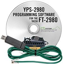YPS-2980 Programming Software and USB-29F cable for the Yaesu FT