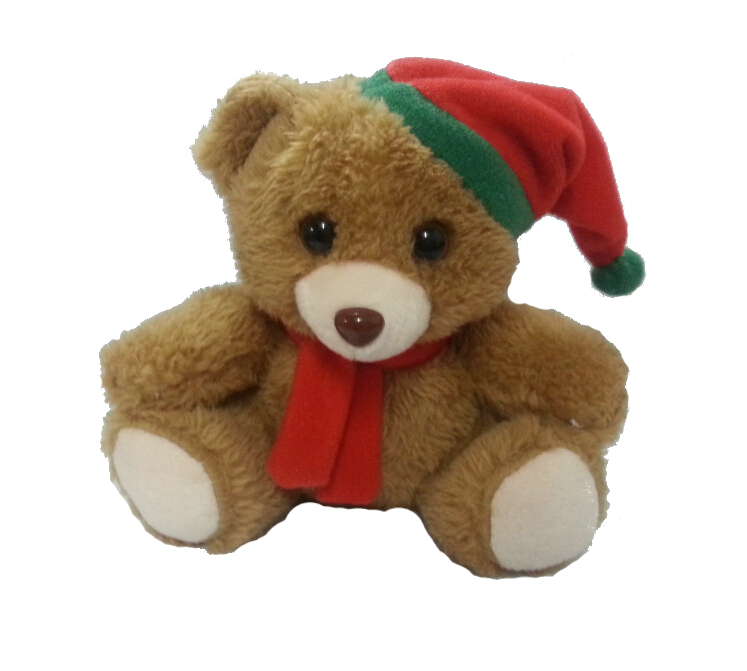 Cuddly Christmas Bear- Fully Customisable Plush