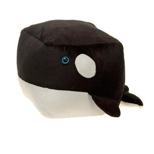 Cuddly Cuboid Orca - Fully Customisable Plush
