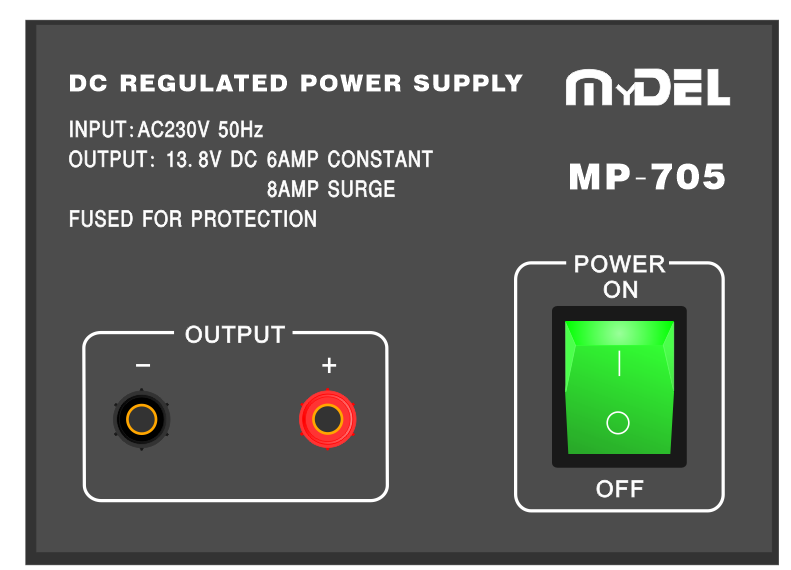 MyDEL MP-705 Linear Power Supply