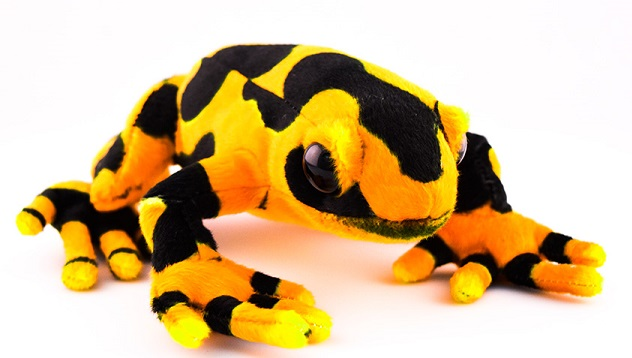 Creepy Dart Frog - ?Fully Customisable Plush
