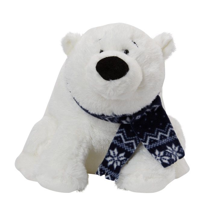 Charlie the Cuddly Polar Bear - Fully Customisable Plush