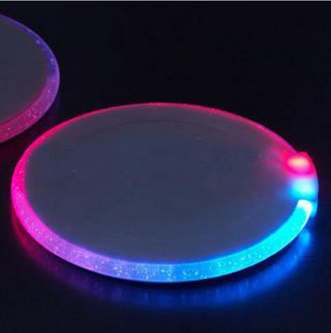 Promotion LED coaster/ Promotional product fully customized  to your requirement UK Supplier