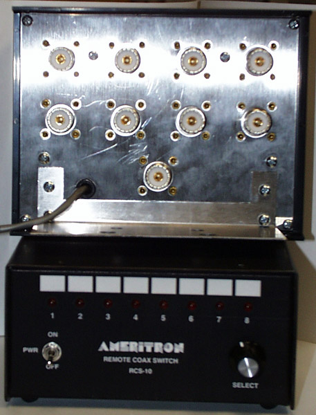 RCS-10X Ameritron 8-way Remote Coax Switch (SO-239)