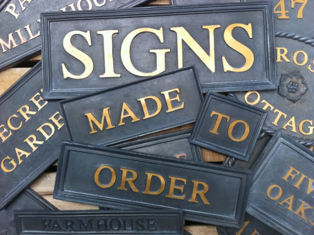 Signs in Lead
