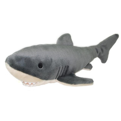 Cuddly Great White Shark - Fully Customisable Plush