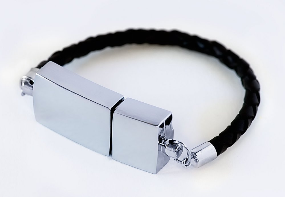 USB Leather Bracelet USB Flash Drive Usb Stick, Pen Drive / Promotional product fully customized  to your requirement UK Supplier