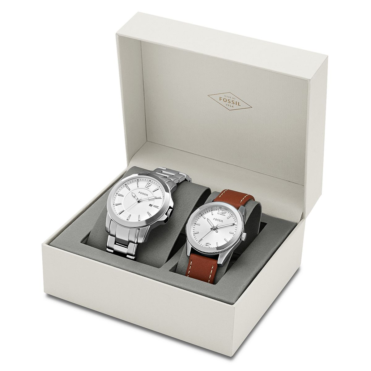 His & Her Classic Watch Gift Set / Promotional product fully cus