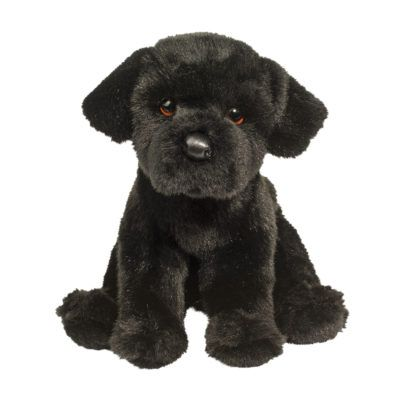 Cute Black Labrador Puppy ?- Fully Customisable Plush