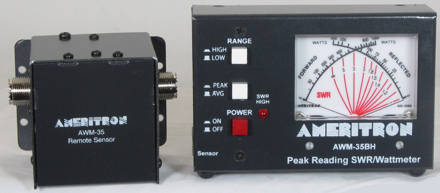 how to read a dual needle swr meter